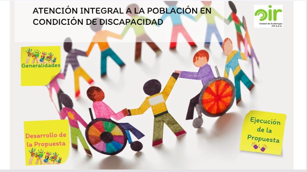 Atención Integral a la Población en Condición de Discapacidad